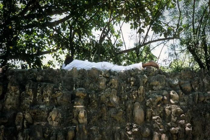 Sleeping Man - Organizing the frame - Richard Pickup
