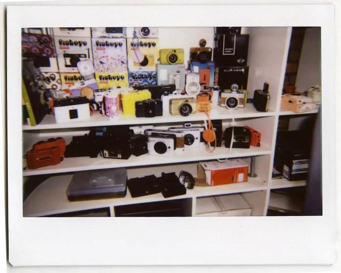 A Lomo'Museum of special edition cameras