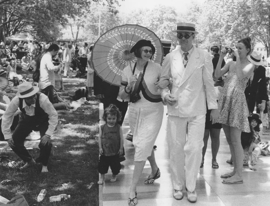 1920s jazz Festival, Ilford HP5 at 320, Kodak HC-110 Dil. H