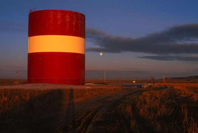Moon over Medicine Bow, Wyoming - Nikon F6, Fuji Velvia 50