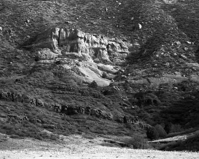 Near Red Mountain, Larimer County, CO - Mamiya RZ67, Ilford Delta 100
