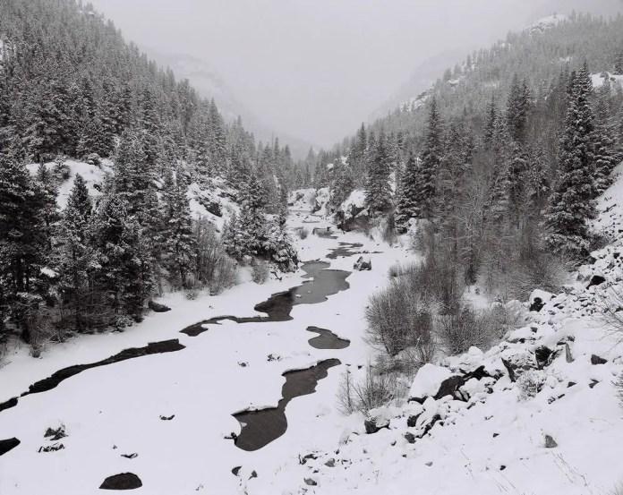 Poudre Canyon, CO - Mamiya RZ67, Ilford HP5