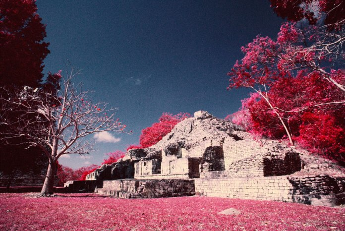 Mexico IR - Kodak AEROCHROME © Rob Hawthorn April 2016