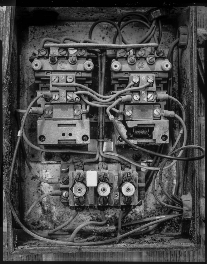 Paper negatives - Disused Panel