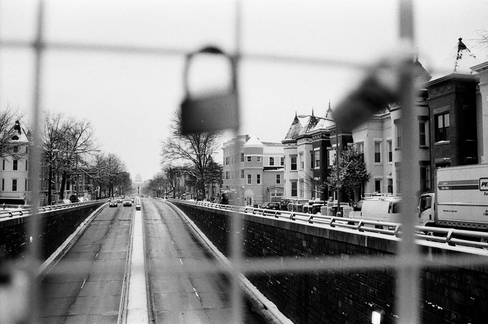 North Capitol Street, Washington D.C. Fomapan 100.