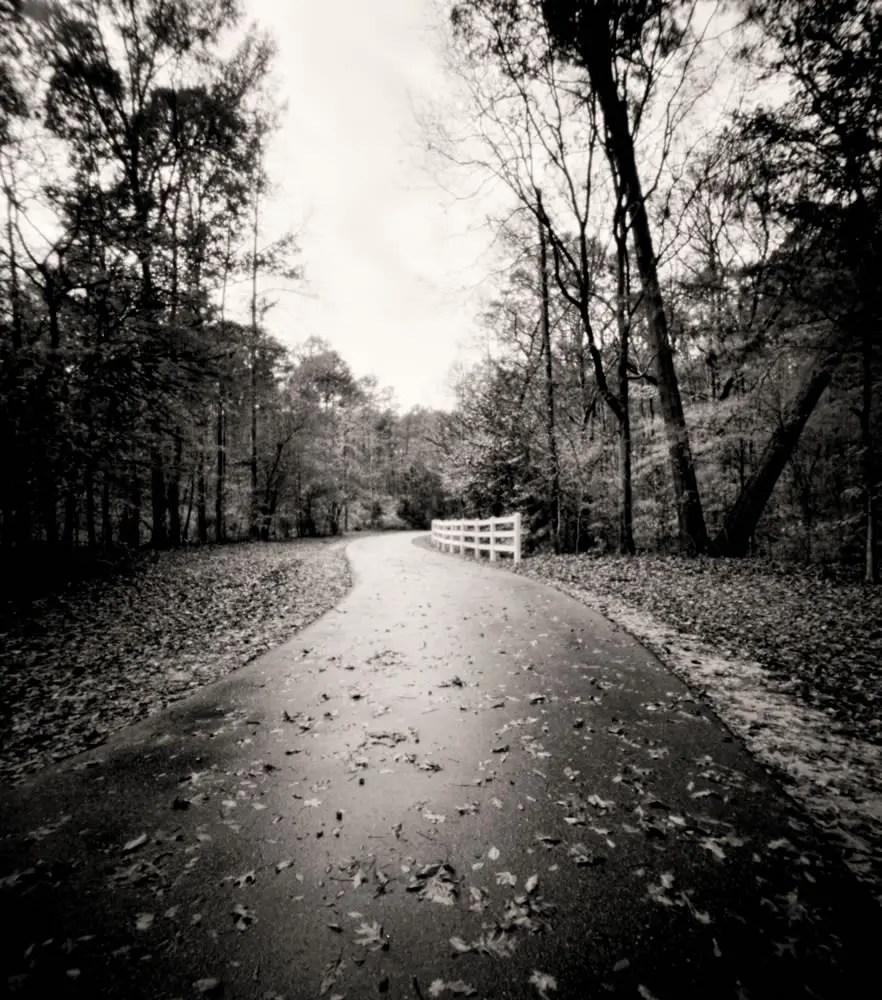 River trail path - 4x5 pinhole - Bobby Kulik
