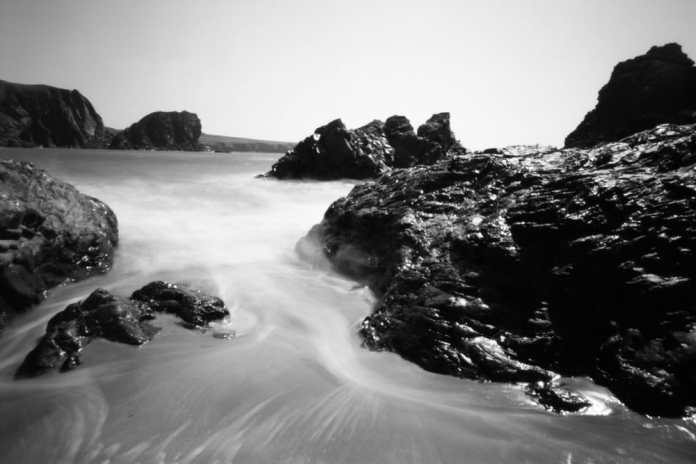 Kynance Cove Pinhole - Ilford FP4+ - Harman Titan - Niel Hibbs, Harman Technology Lab and Technical Manager