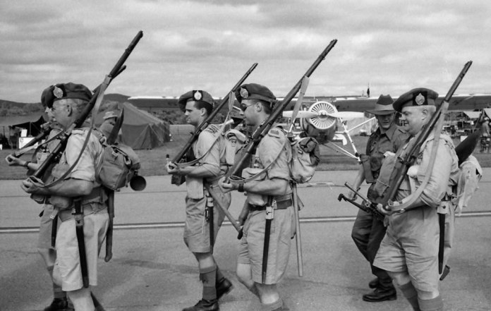 Scots on the march, 6/15, HP5 in HC110 Dilution H