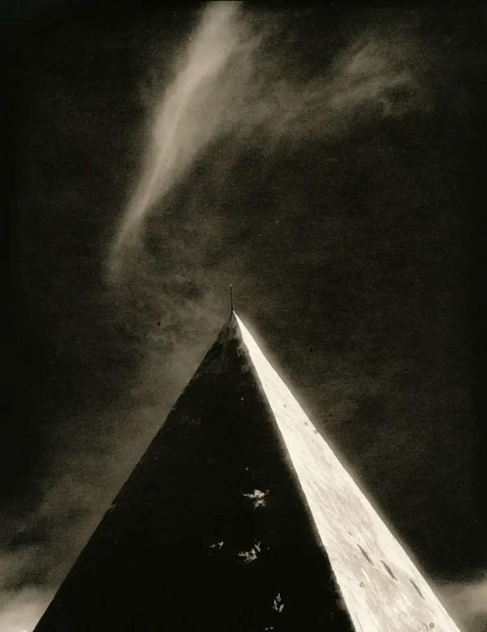Pyramid (darkroom scan print)