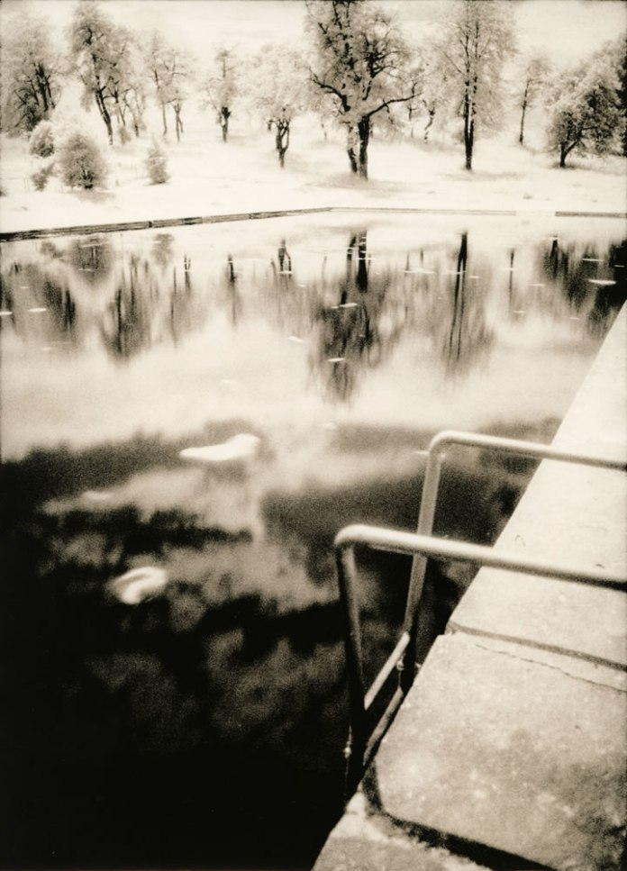 Shall we swim? (darkroom print scan)