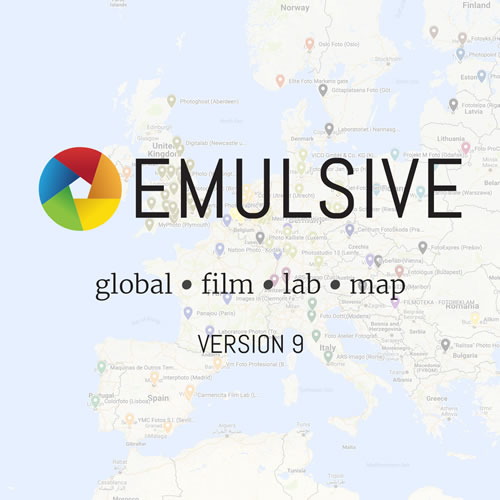 The EMULSIVE Global Film Lab Map (v9)