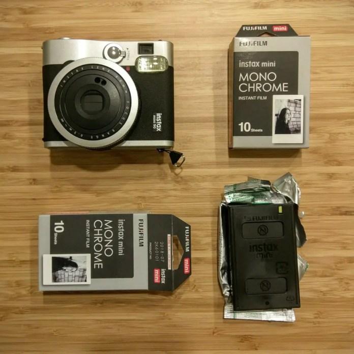 Instax Mini Monochrome - ready to shoot