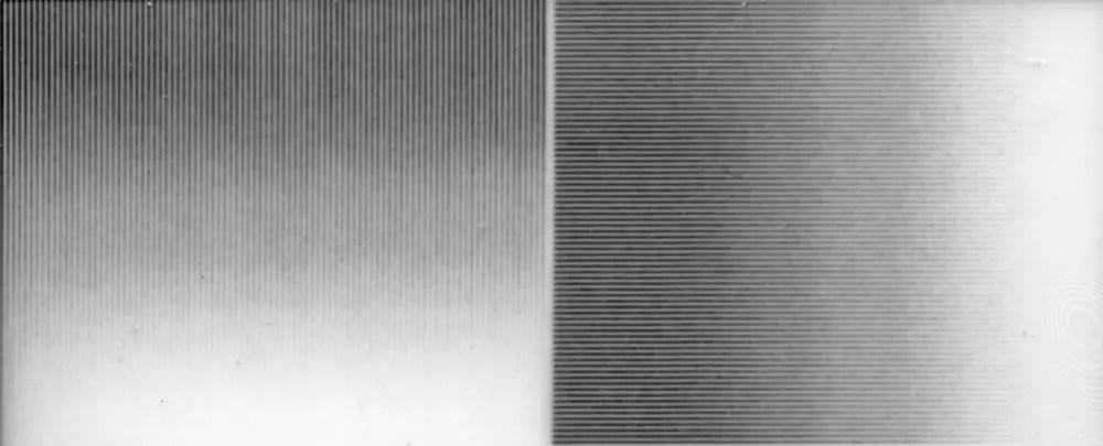 Instax Mini Monochrome - Resolution test - Standard