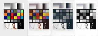 Fuji Instax Mini Monochrome and Color - Test Matrix