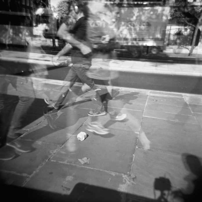 Shadows capturing ghosts. #Holga multiple exposure