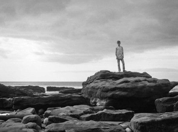 Mini me on the rocks. My last photo for this month's FP4Party