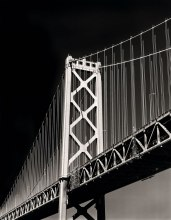 "Bay Bridge - Wisner 8""x10"" Nikkor 450mm, Ilford HP5+ in Kodak HC-110"