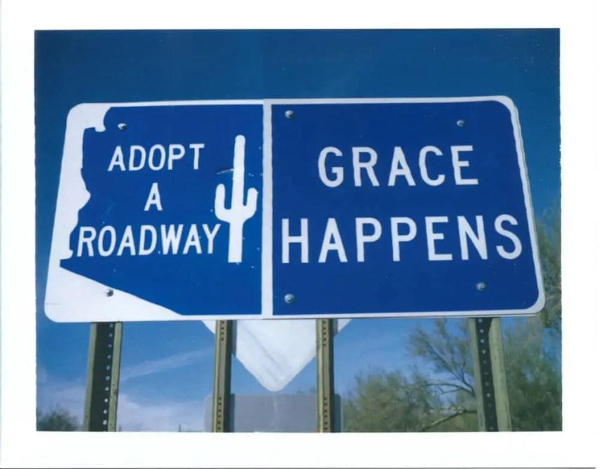 Grace Happens, Polaroid Automatic 100 Land Camera, Type 669 Packfilm