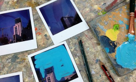 I am Sarah Kudirka and this is why I shoot film…only to paint over it