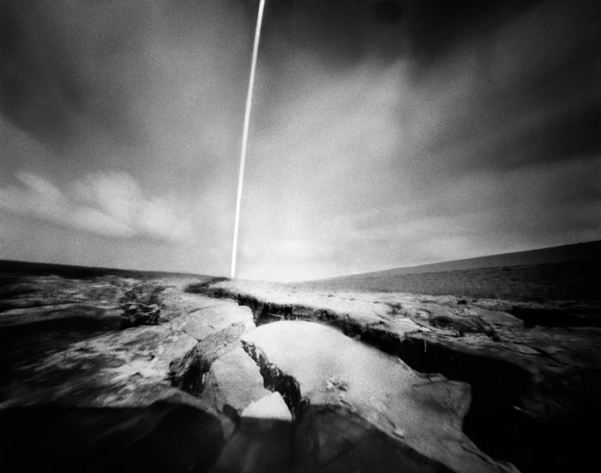 Corine Hörmann - @PinholePhotos Another new image. Sea clay at the salt marsh. From the Wadden Sea series. - #FP4Party #pinhole #fineartphotography #filmphotography #emulsive