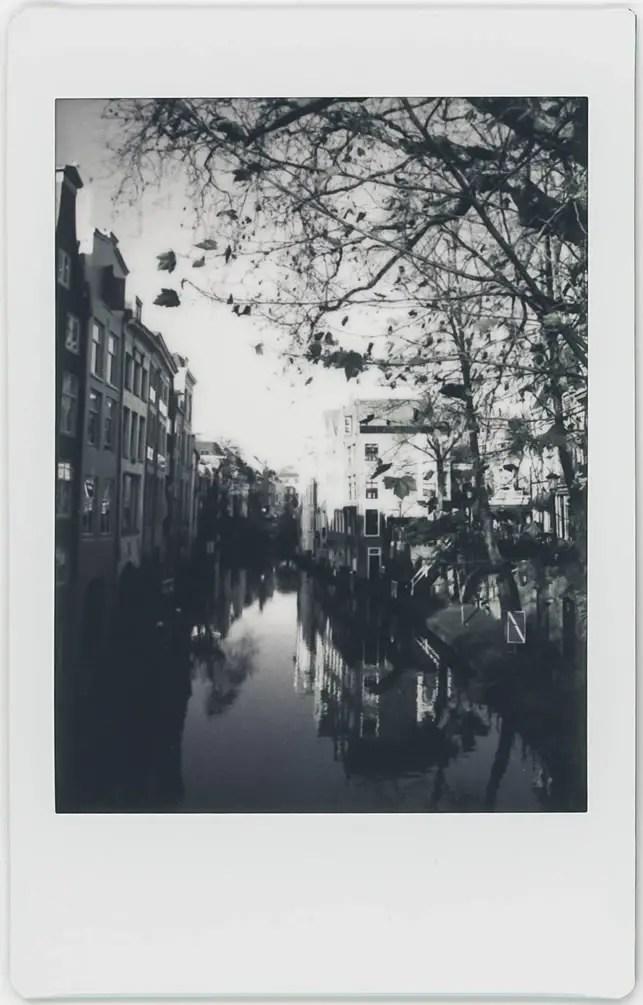 Photographer: Aukje Kastelijn Title: Dutch Canal Location: Utrecht City, NL Camera: Fuji Mini 90 NEO CLASSIC