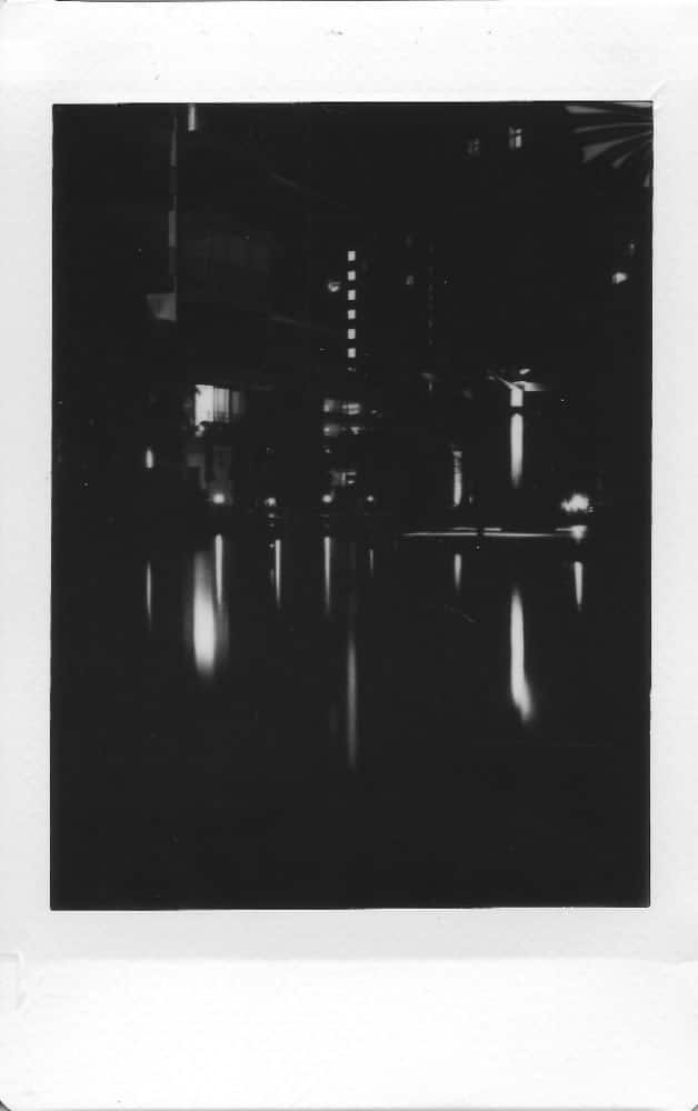 """The Mamiya works well in bright daylight, and in the night, this gave us the opportunity to test the """"bulb"""" exposure mode. (1/2)"""