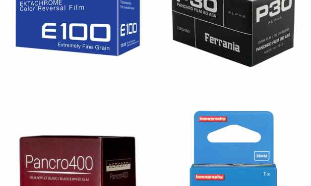 Every new film photography stock announced in 2017