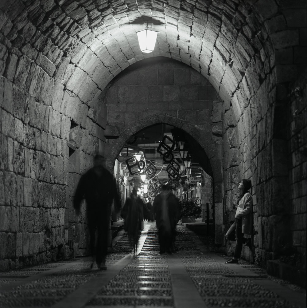 Time... slow down a little. Byblos Old Souk - Hasselblad 500CM - Fuji Across 100