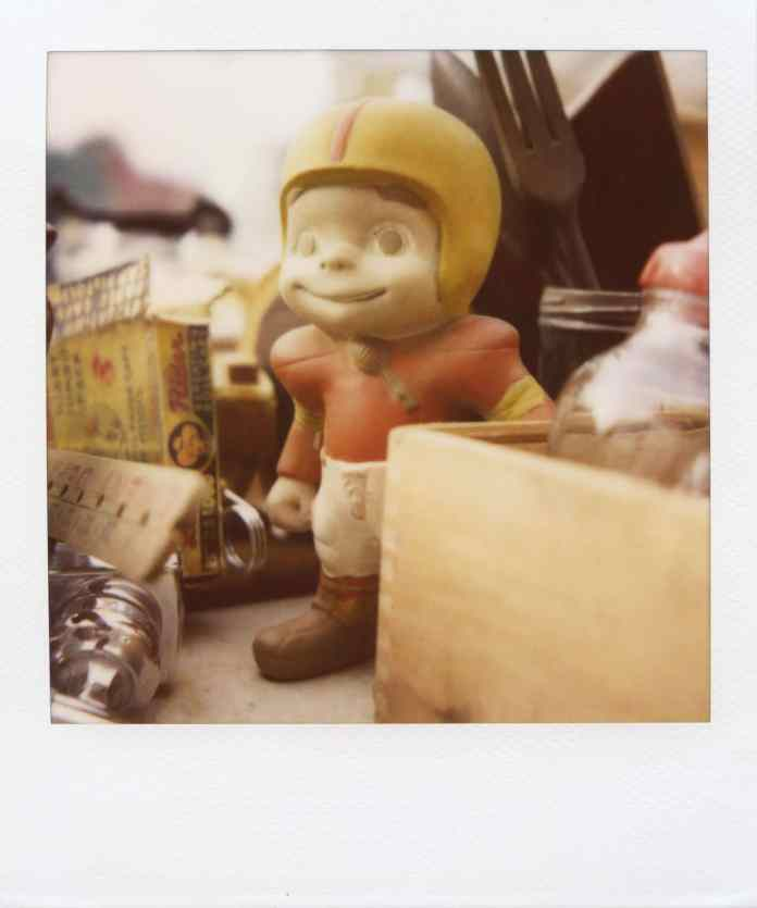 """Billy"" (NYC 2011) - Polaroid SX-70 Alpha 1 Land Camera with expired Polaroid 600 film and ND pack filter"