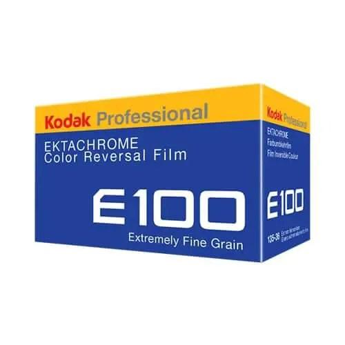 Kodak EKTACHROME 100 - Box render