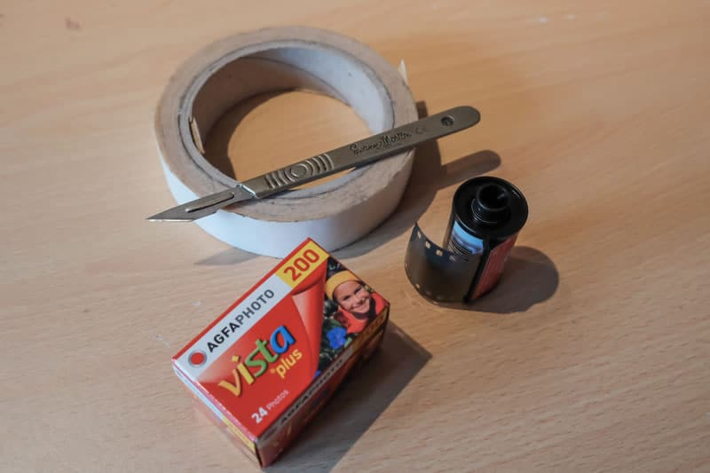 Redscaling film tutorial - Step 1