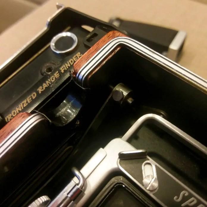 Speed Graphic - Rangefinder coupling arm