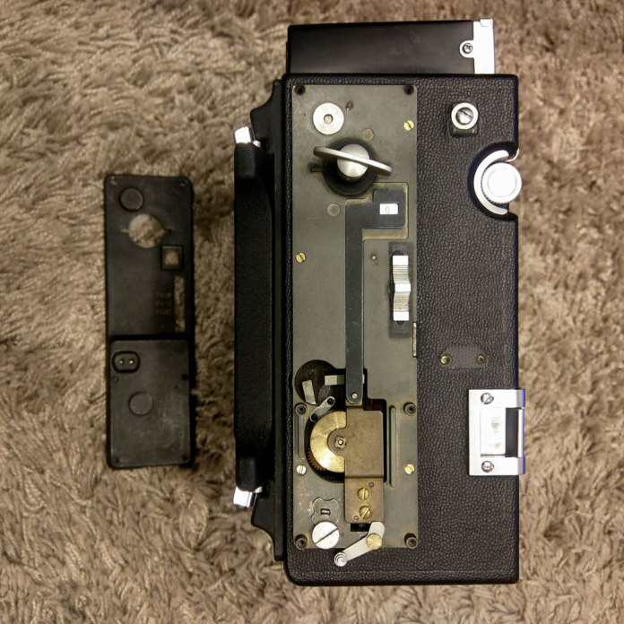 Speed Graphic - Shutter mechanism