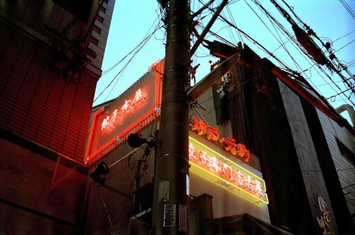 Kobe beef - from In the form of Neon. Kodak Portra 400, Olympus OM40, Japan