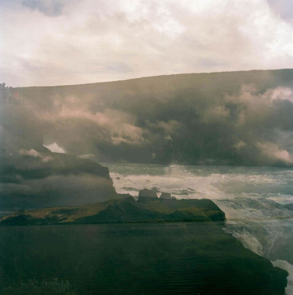 Accidental double exposure - Iceland