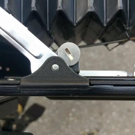 Speed Graphic - RF Tune - Eccentric screw