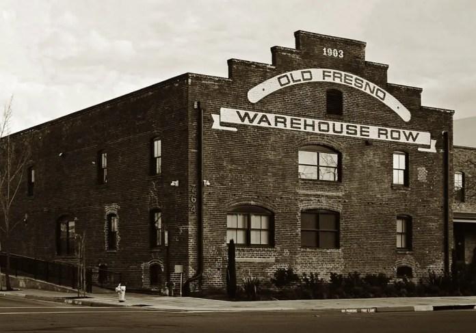 Pentax 645 -Warehouse Row - Fresno, CA - Pentax-A 645 45mm -ILFORD HP5+