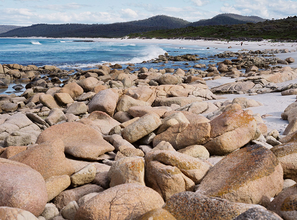 Tasmania Travelogue - On the other side of Tasmania, we have Friendly Beaches in Freycinet National Park.