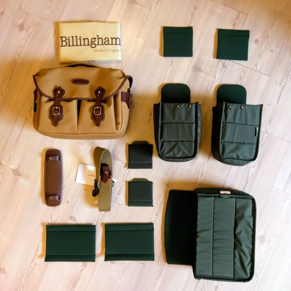 Billingham Hadley One - Exploded