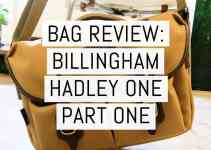 Bag review: The Billingham Hadley One part one – first impressions