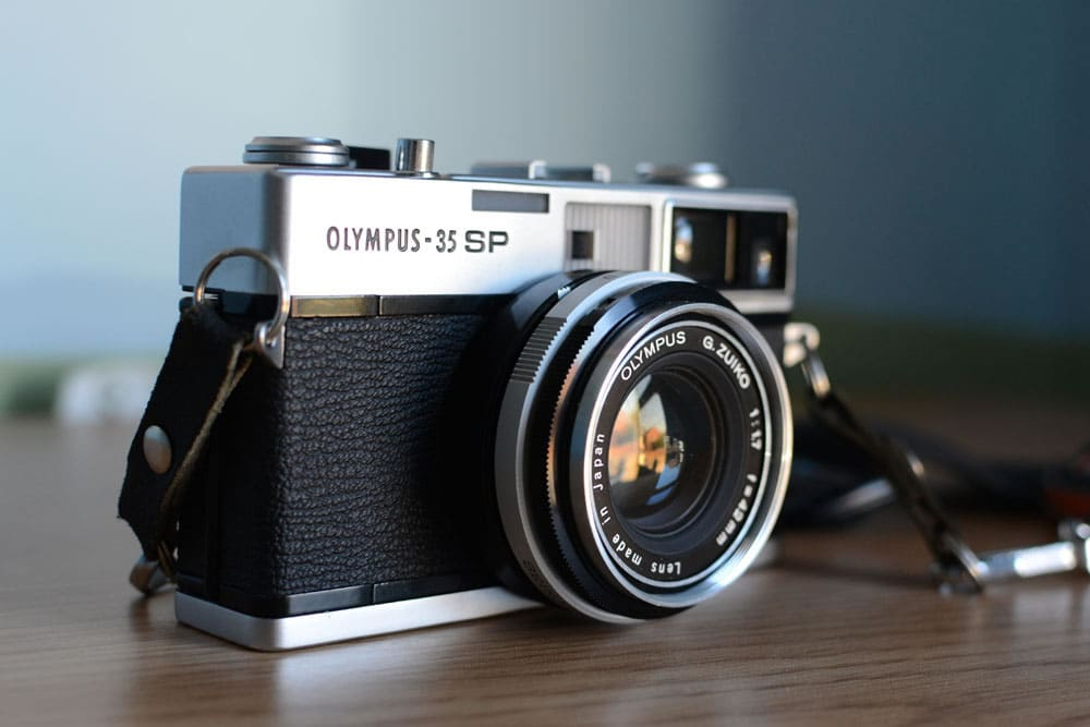 Camera review: me and my Olympus 35 SP by Matt Parry