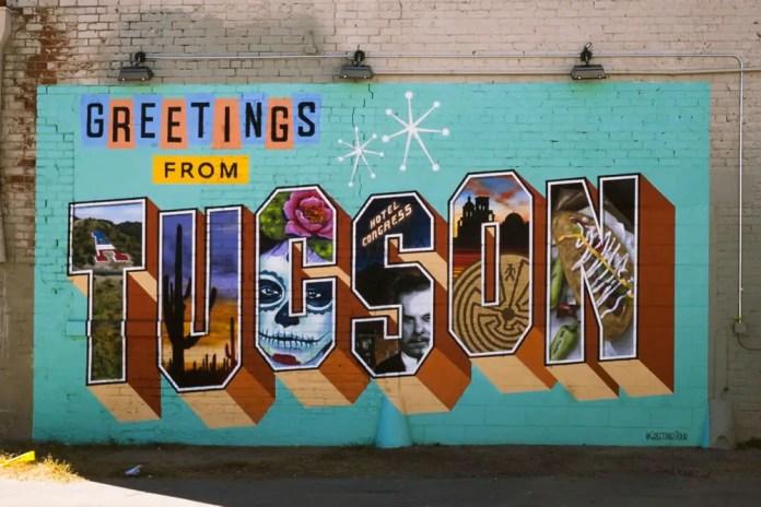 Greetings from Tucson,Mamiya Super 23, 100mm f/3.5, Fuji Velvia 50