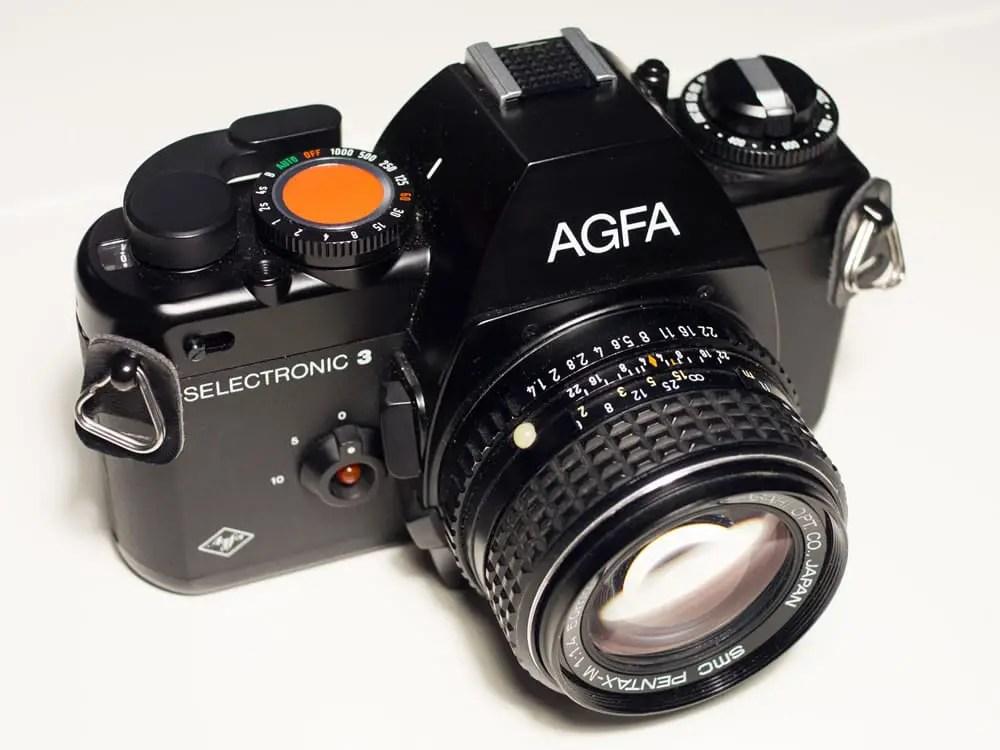 Agfa Selectronic 3 - Top angle
