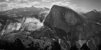 North Dome, Yosemite – Crown Graphic 4x5 with Optar 127mm – Ektapan 100