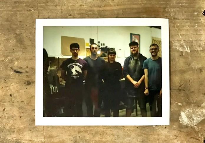 Intrepid - The Team (Left to right: James, Ben, Gemma, Thom, Max)