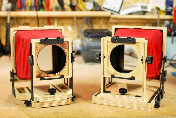 Intrepid - v2 and v1 cameras (left to right)