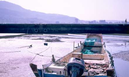 Low tide – Shot on Fuji Velvia 50 RVP50 at EI 50 (120 format)