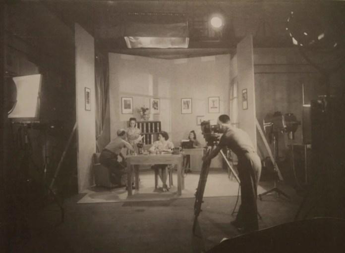 A cinema film test at the Ferrania studio, 1930s (archival image courtesy FILM Ferrania)