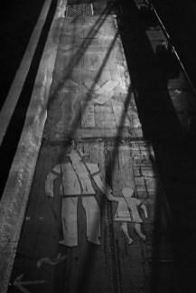 Film noir daycare - Shot on Fomapan R100 at EI 100. Black and white negative film in 35mm format. Reversal development.