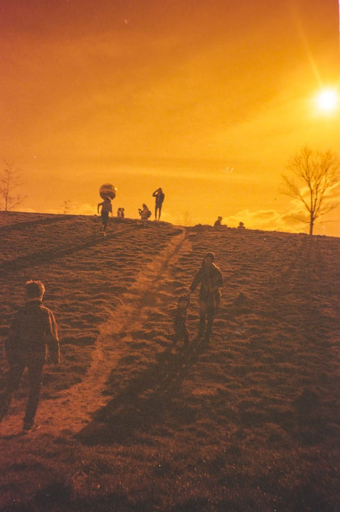 Olympic Park, London 2016, Ricoh GR1v, Rollei Redscale